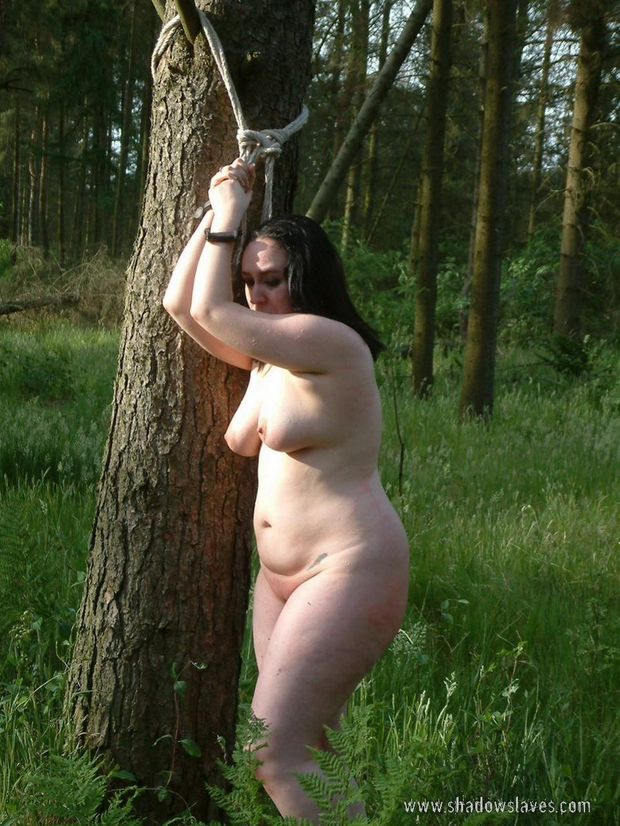 Bdsm outdoor humiliation slave first time