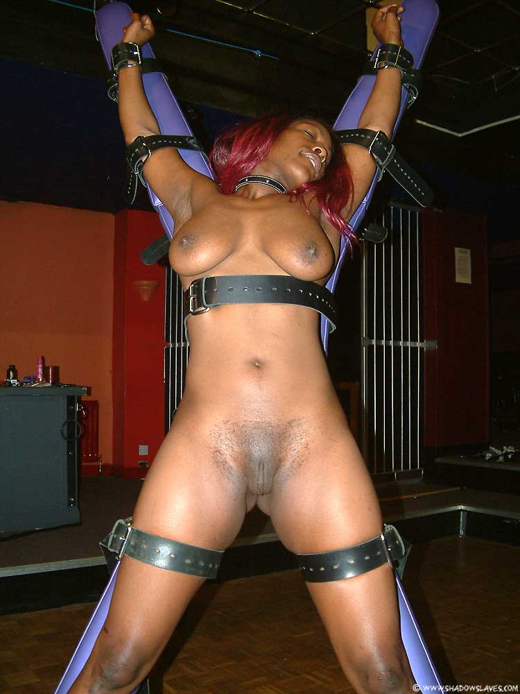 Black sex slave bondage girl
