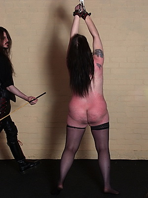 Bound mature bdsm slave Jay in strict spanking discipline and corporal punishment from Shadow Slaves