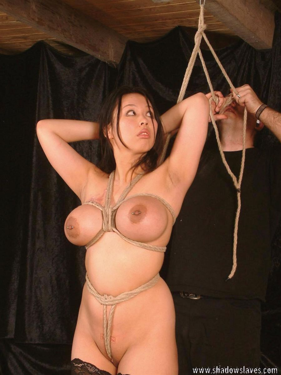 Opinion, busty bondage clips
