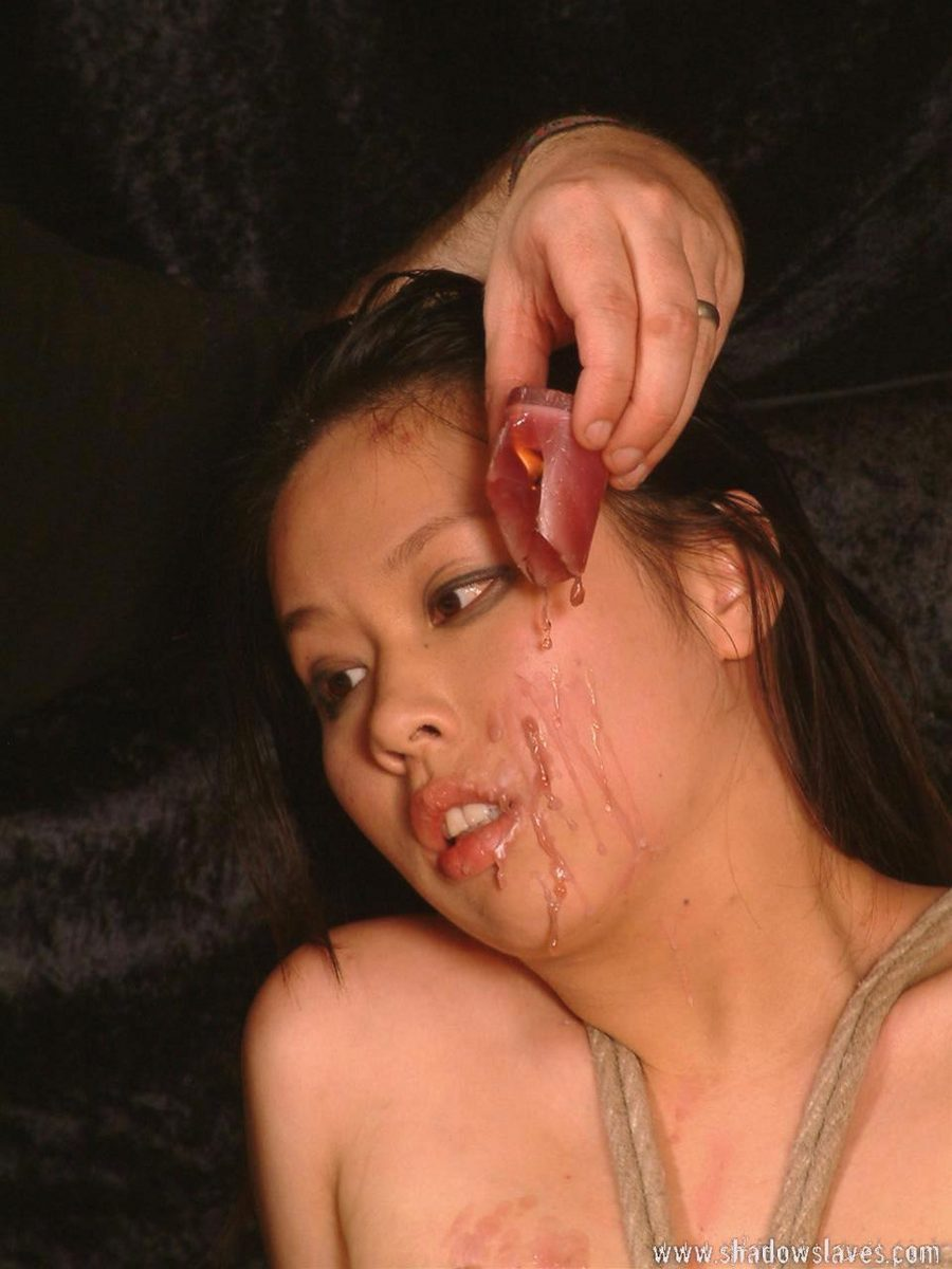 bdsm punishment facials