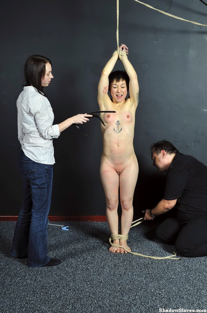 image Asian slave mei maras medical fetish and play piercing bdsm of polynese mas
