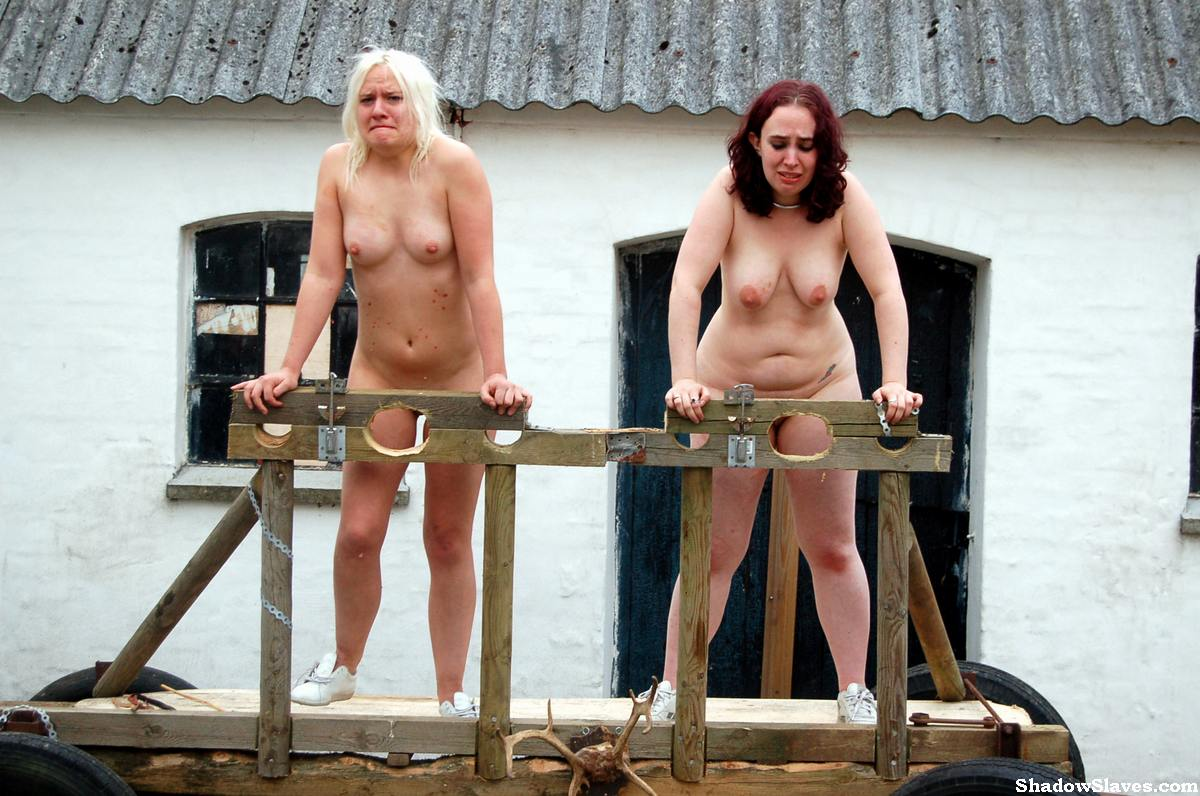 Outdoor slave training sexual torment and 5